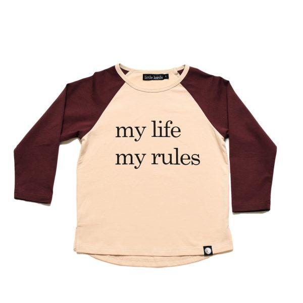 My Life My Rules Raglan