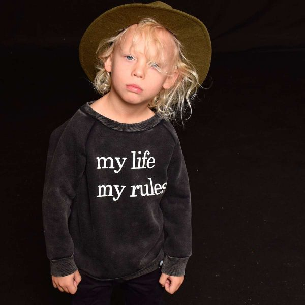 My Life My Rules Sweater