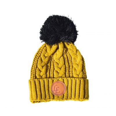 9ce8f9d528a Mustard POM Beanie - Little Lords