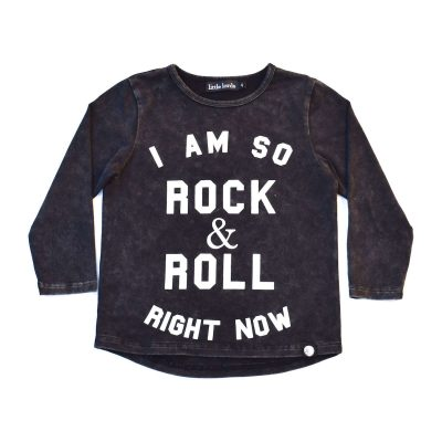 Rock + Roll Long Sleeve Tee