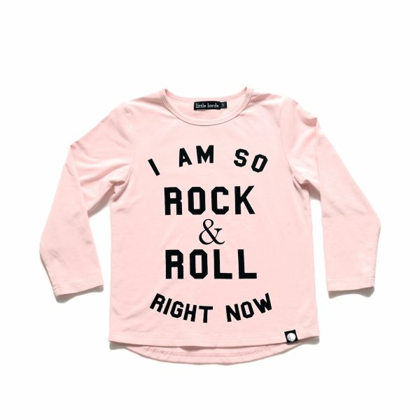 Rock + Roll Pale Pink