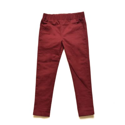 Skinny Pants - Burgundy