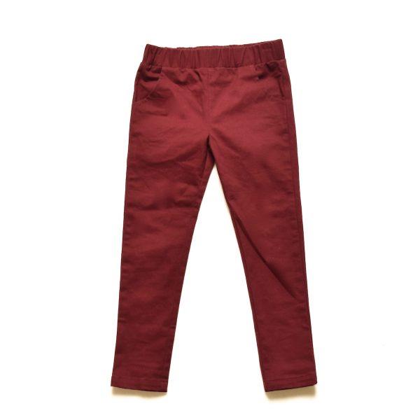 Skinny Pants - Burgundy
