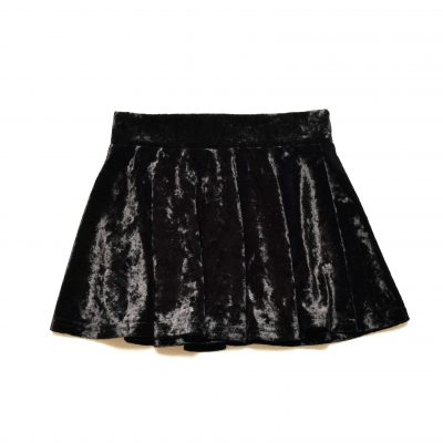 Crushed Skirt - Black