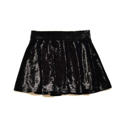 Crushed Skirt - Black