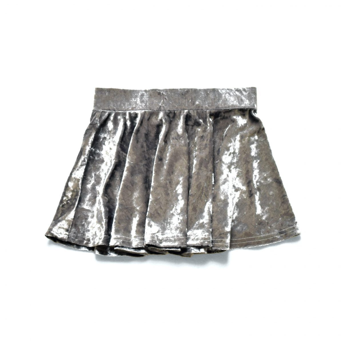 Crushed Skirt Silver Little Lords