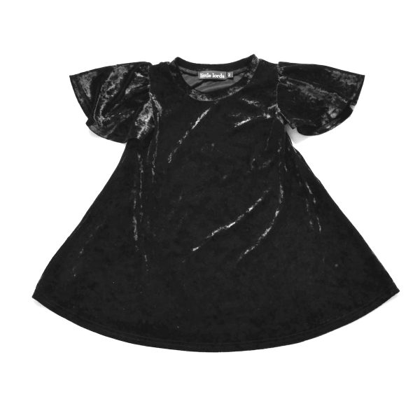 Party Dress - Black Velvet