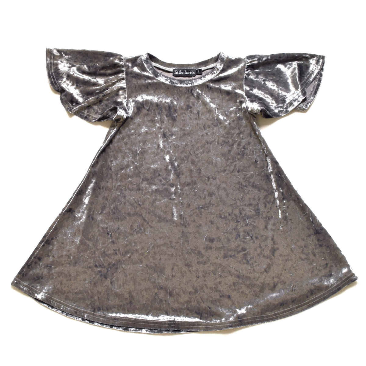 Silver Party Dress Little Lords